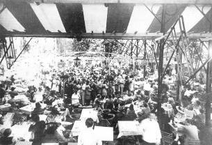 A Fővárosi Nagyvendéglő a Városligetben, 1930-as évek, Seidner Zoltán felvétele, Budapesti Történeti Múzeum Kiscelli Múzeuma